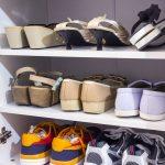 Saml alle dine sko i et skoskab